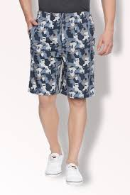 Van Heusen Trousers Size Chart Van Heusen Shorts Van Heusen Blue Shorts For Men At Vanheusenindia Com