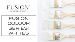 Fusion Mineral Paint Color Chart Whats The Difference Colour Series Part 3 Fusion Mineral Paint Whites