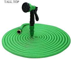 expandable garden hoses. Generic TALL TOP Expandable Garden Hose Pipe With 8 In 1 Spray Gun - Green Hoses
