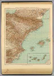 41-42. Spagna, Portogallo est. - David Rumsey Historical Map Collection