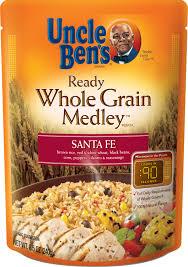 uncle ben s ready medley santa fe 8 5oz