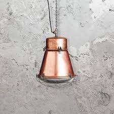 reclaimed lighting. Reclaimed Factory Copper Pendant Light Lighting
