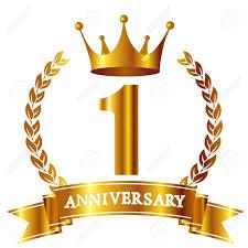 Anniversary Ribbon Crown Anniversary Ribbon Icon Royalty Free Cliparts Vectors And