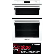 24 inch double wall oven s electric sears black