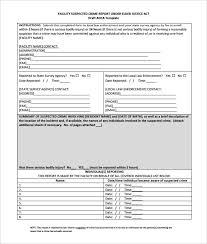 11 Sample Crime Reports Pdf Word