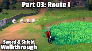 Pokémon Sword/Shield Walkthrough, Part 03: Route 1 - YouTube