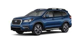 All New 2019 Subaru Ascent 3 Row Suv Subaru 3rd Row Suv Subaru Vehicles