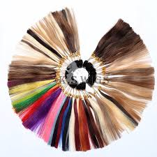 Hot Item Human Hair Color Chart Color Sheet Color Ring