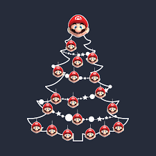 Donkey Kong Arcade Christmas Tree  Super Mario  Know Your MemeSuper Mario Christmas Tree