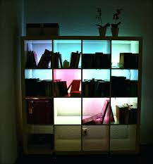 ikea shelf lighting. Bookcase Led Lighting For Bookcases Ikea Billy Library Intended Lights Ideas Shelf H