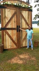 brian built barn doors. Barn Doors I Built For Wedding Back Drop More Brian