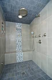 Beautiful tilework highlights this steam shower. #tile