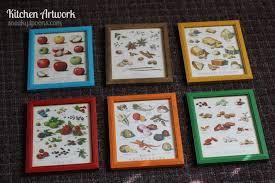 Kitchen Artwork Kitchen Artwork Framing Cooks Illustrated Magazines