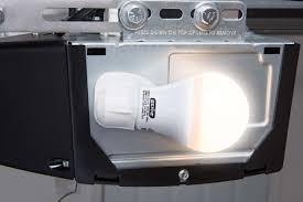 genie led garage door opener light bulb 60 watt 800 garage door opener light not working