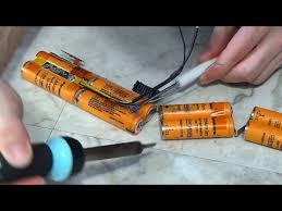 Rebuild a <b>laptop battery pack</b> - YouTube