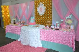 i wanted to feature the cake separately so i decided on a round table for the cake and two small rectangular tables for the dessert bar twelve feet of