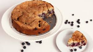 blueberry vanilla bean coffee cake laura vitale laura in the kitchen episode 574 recipes guide