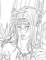 Appealing Native American Art Coloring Pages P8009 Good Native Art