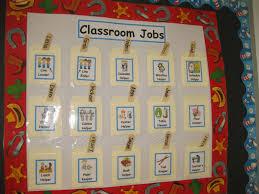 Classroom Chore Chart Traveling Teaching Cooking Creating Classroom Job Chart