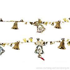 Luoem Weihnachten Deko Girlande Banner Mit Glocken
