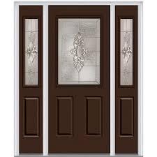 MMI Door 60 in. x 80 in. Heirloom Master Left-Hand 1/2-Lite ...