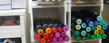 diy marker storage box