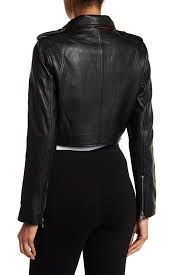 gallery previously sold at nordstrom rack women s cropped leather jackets