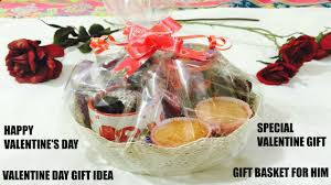 how to make gift basket for birthday 4 him valentine s day gift idea gift basket for him ft namrata