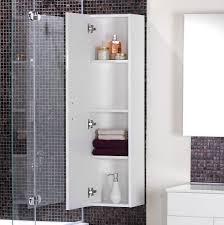 bathrooms design bathroom storage ideas tall white