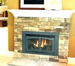vented gas fireplace inserts home depot