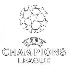 Disegno Di Scritta Uefa Champions League Da Colorare Per Bambini