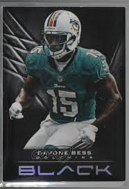 Details About 2012 Panini Black 349 32 Davone Bess Miami Dolphins Football Card