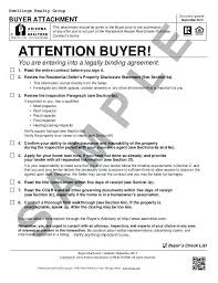 Home Sales Contract. Buyers Contract Template With Home Sale ...