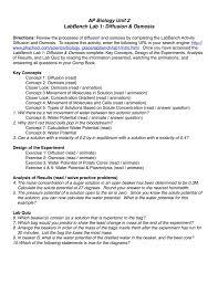 cell size pogil worksheet templates osmosis jones worksheet answers transport in