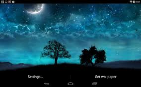 dream night free livewallpaper for samsung galaxy core 2