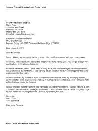 Cover Letter For Office Assistant Musiccityspiritsandcocktail Com