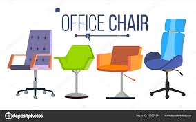 designer office desk isolated objects top view. Furniture. Set Modern Chair Objects. House Scene Creator. Isolated Flat Illustration \u2014 Vector By Pikepicture Designer Office Desk Objects Top View I