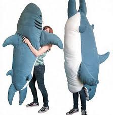 Wonderful 7 Foot Shark Plush Images Best Idea Home Design. Shark Sleeping  Bag ...