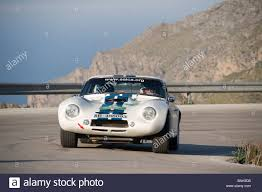 White 1965 TVR Griffith classic sports car racing in the Classic ...