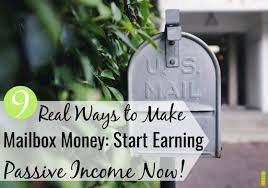 9 Ways to Make Mailbox Money: Start Earning Passive Income Now - Frugal  Rules