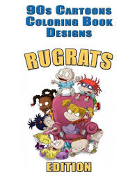 90s cartoons coloring book designs 30 rugrats designs for coloring stress relieving inspire
