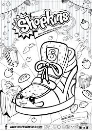 Shopkins Coloring Pages Free To Print Free Printable Coloring Pages