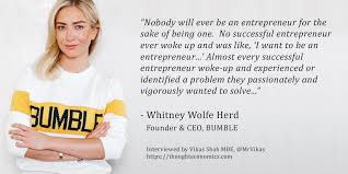 If you do see it, please report the user; A Conversation With Bumble Founder Ceo Whitney Wolfe Herd Thought Economics