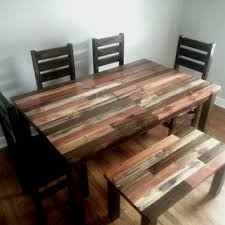 dining room tables reclaimed wood. Fine Wood Rustic Dining Table  Room Kitchen Reclaimed  Wood Dinin Intended Tables I