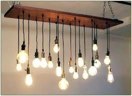 exposed lighting. Bare Light Bulb Chandelier Exposed Photo 3 Of 4 Chandeliers . Lighting P