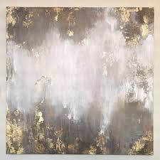 abstract acrylic painting with gold accents and texture please do not purchase this listing