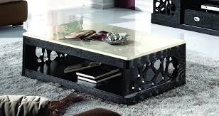stylish marble living room table set and coffee tables ideas modern black marble table set solid living room