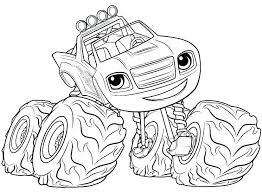 Coloring Pages Blaze And The Monster Machines Coloring Pages