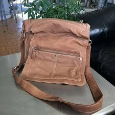 wilsons leather messenger bag raw