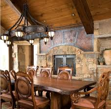 rustic interior lighting. Rustic Interior Lighting. Six Light Lighting For Dining Room With Dramatic